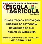 Centro de Formação de Condutores Escola Agrícola