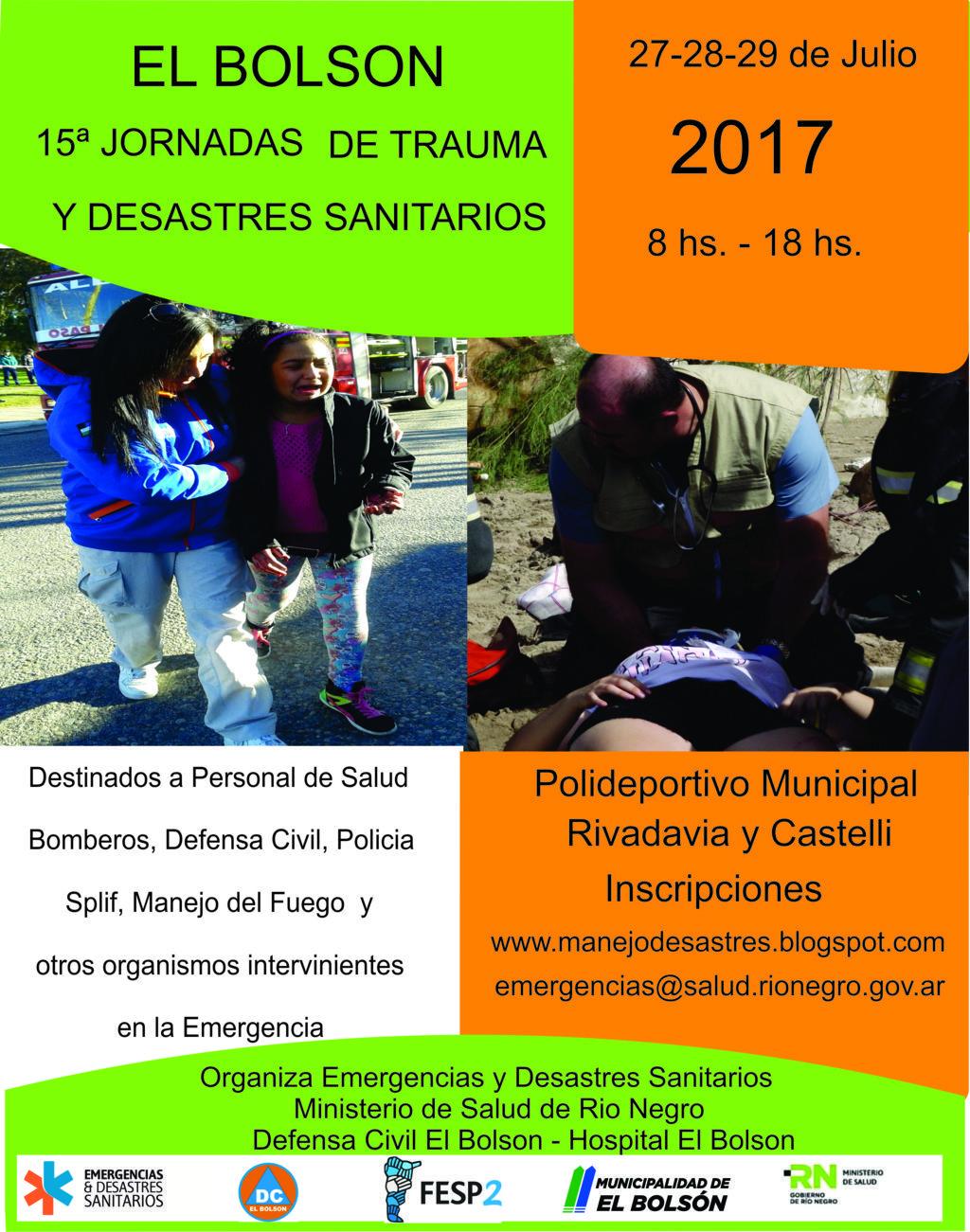 Curso de Trauma y Desastres Sanitarios El Bolsón 2017