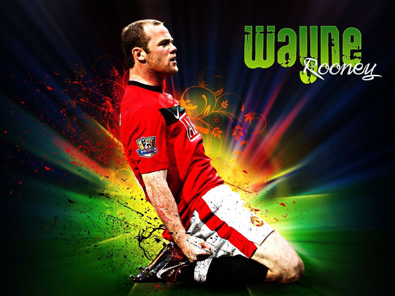 wallpapers hd for mac: Wayne Rooney Manchester United Wallpapers HD ...