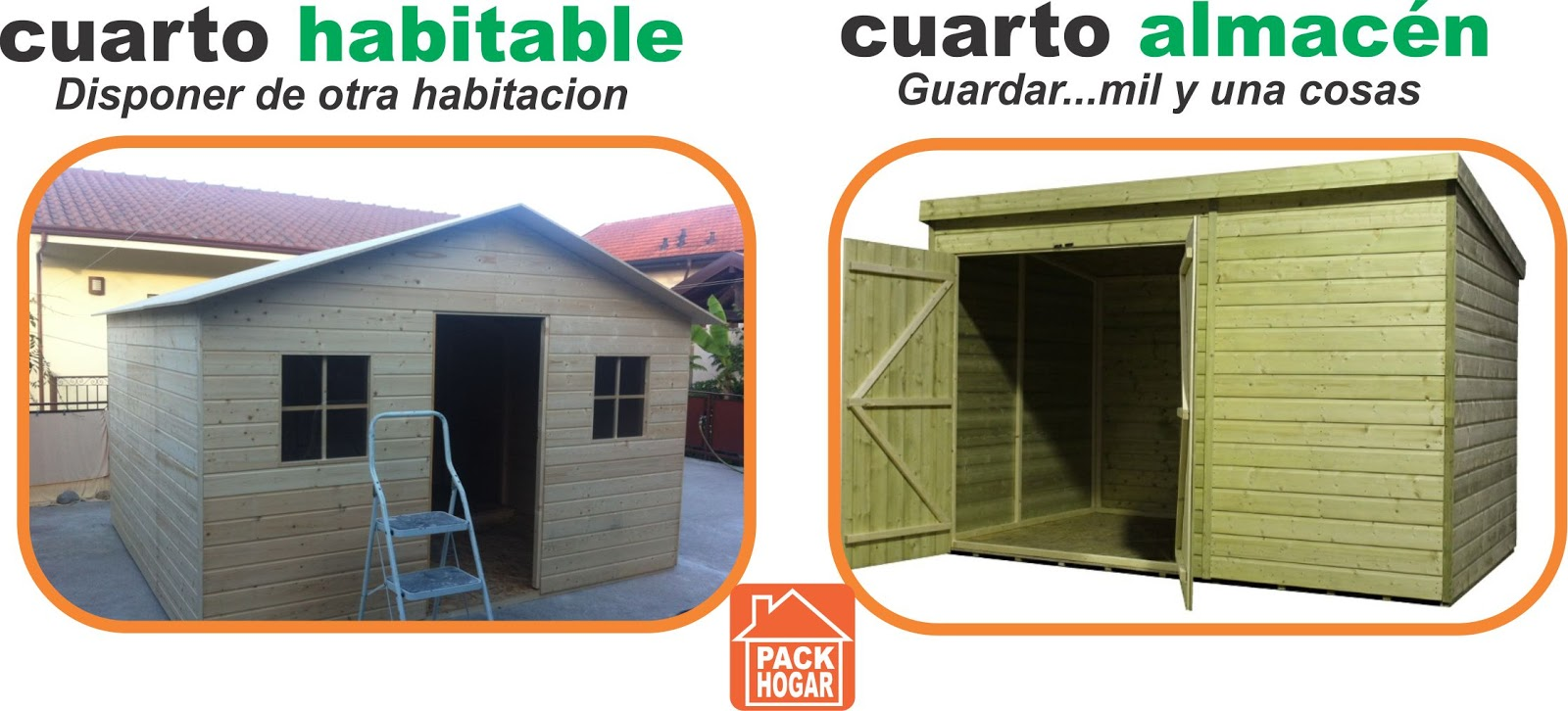 Casetas cuartos m dulos prefabricadas - Casetas de madera para terraza ...