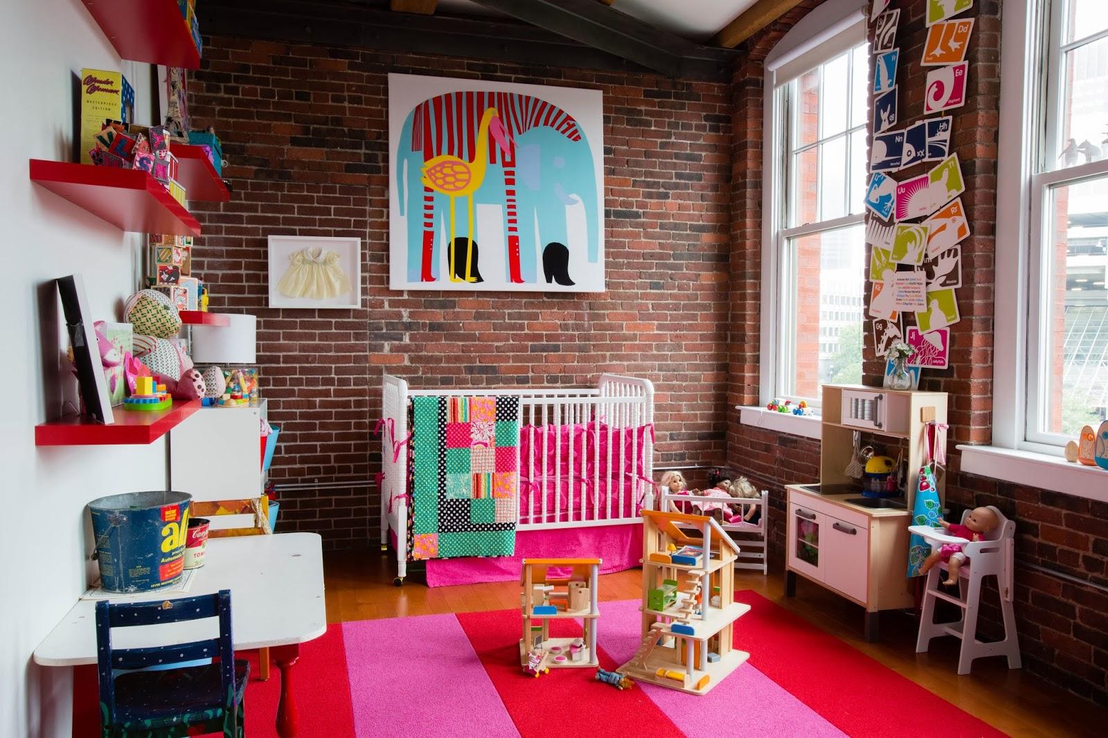 Minimalismo con lujo de detalles project owling - Decoracion infantil habitacion ...