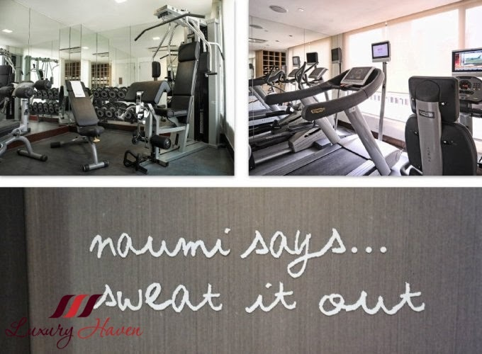 naumi hotel cardio weights gym review