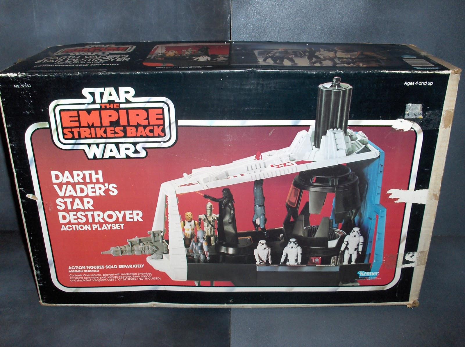 Vintage Kenner Star Wars Toys: Darth Vader's Star Destroyer Action ...