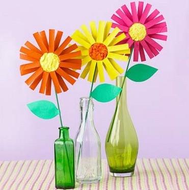 Flores De Papel Para Decorar Manualidades Faciles