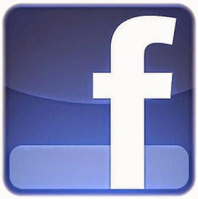 El logotipo de facebook una nítida pastilla azul con el nombre de la