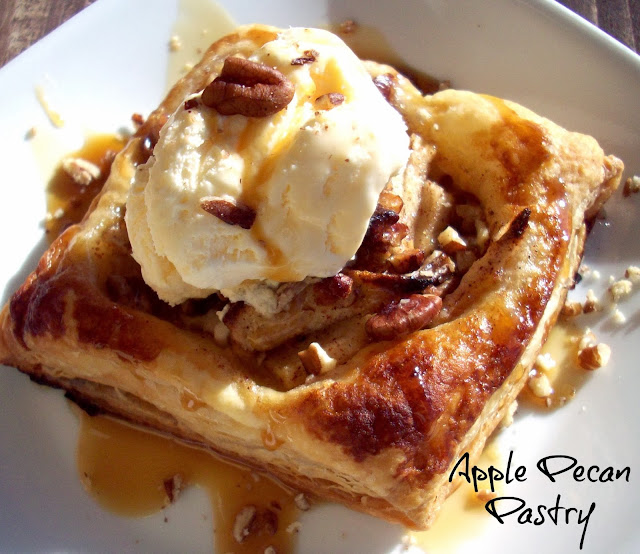 Apple Pecan Pastry #HolidayButter #shop