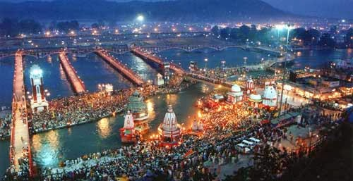 View Of Haridwar