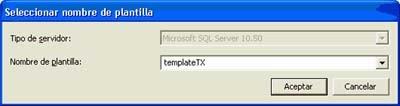 Transacciones en SQLProfiler, nombre plantilla