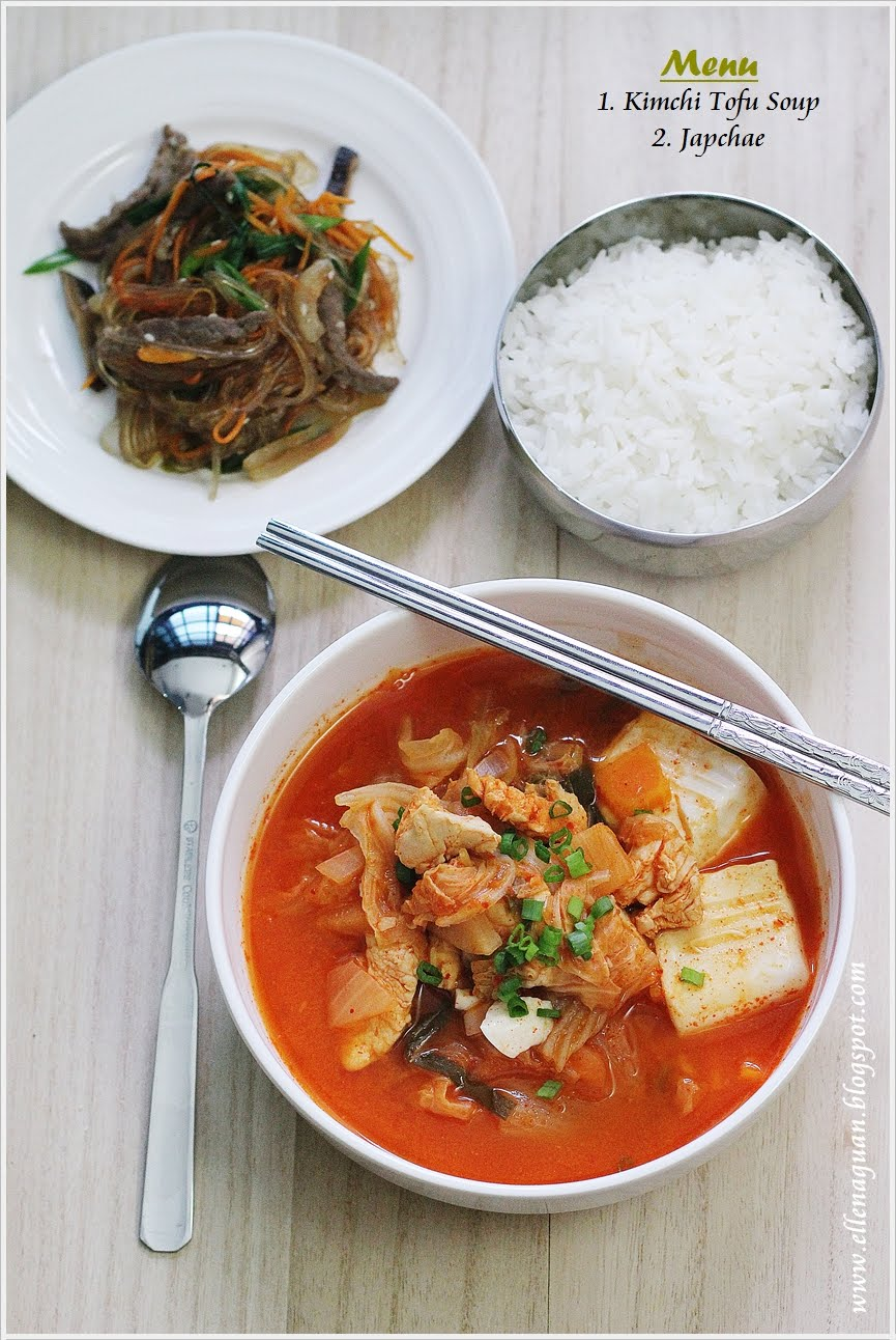 ... : {Korean Cooking Project} Kimchi Tofu Soup - 김치순두부찌개