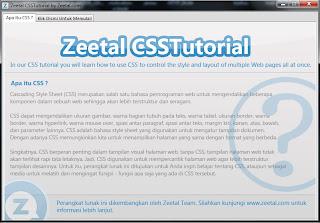 Zeetal CSS Tutorial