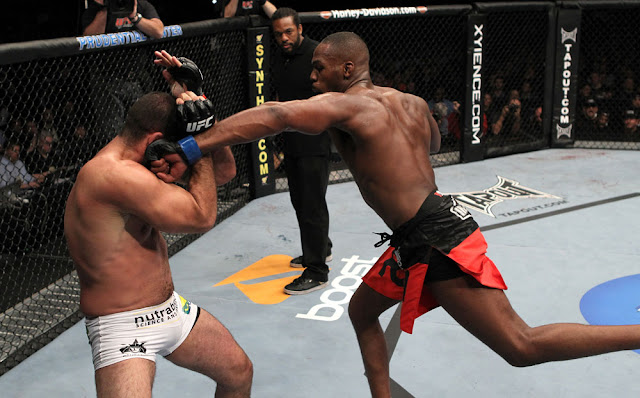 ufc mma fighters jon bones jones vs mauricio shogun rua picture image pic