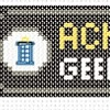 achievement unlocked tardis cross stitch chart