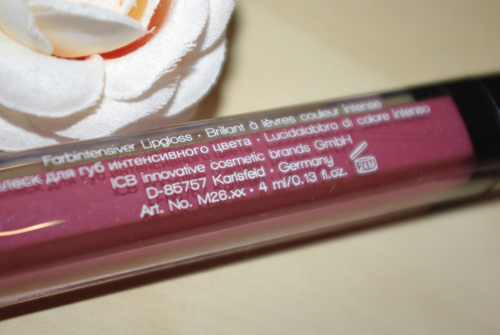 Misslyn rich color gloss Nr. 65 Brombeer