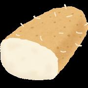山芋のイラスト