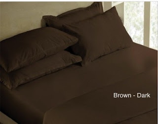 Sprei Polos Coklat (Brown Dark)