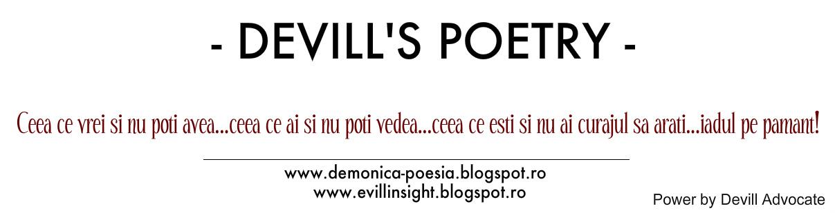 Devill's Poetry
