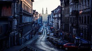 Vista desde Poznan Polonia