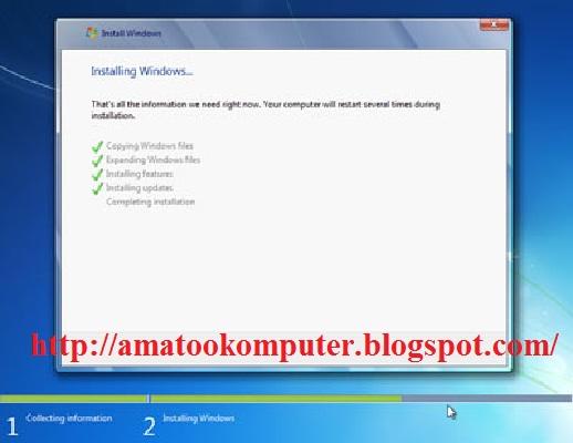 Cara Instal Windows 7 Lengkap 1, Windows 7, Tips Komputer 9