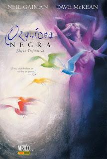 Orquídea Negra, de Neil Gaiman e Dave McKean