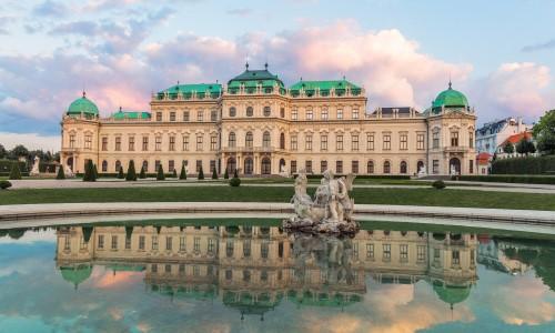 Upper belvedere palace vienna hd wallpaper for Wohndesign pure vienna 2014