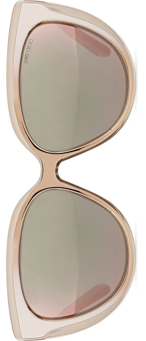 Jimmy Choo Cindy Cat-Eye Sunglasses, Brown