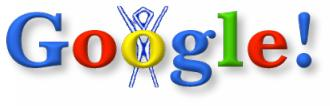 Google original doodle burning man logo