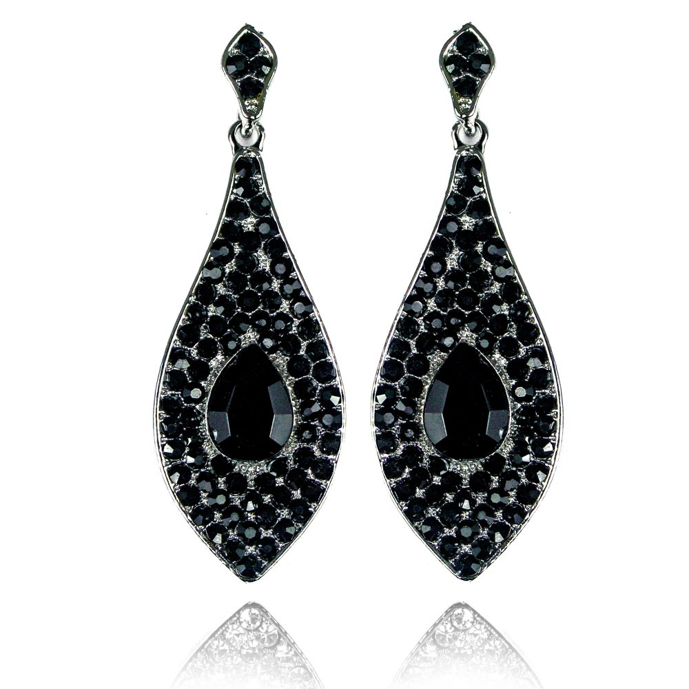 Elegance Of Living Black Earrings