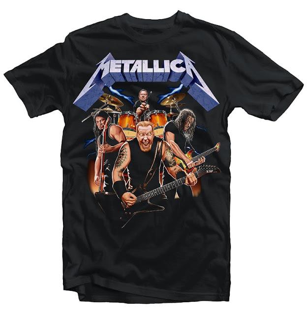 metallica tshirt design