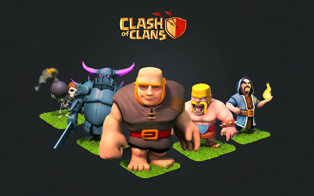10203-Clash of Clans Troops HD Wallpaperz