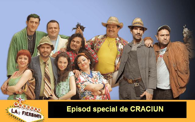 Las Fierbinti Episod Special de Craciun 25 decembrie 2015 online