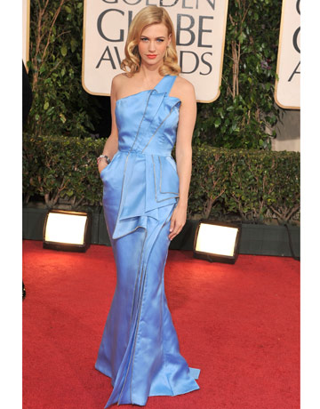 january jones golden globes 11.  golden globes 11. January Jones Inspiration: Have you met Miss Jones?