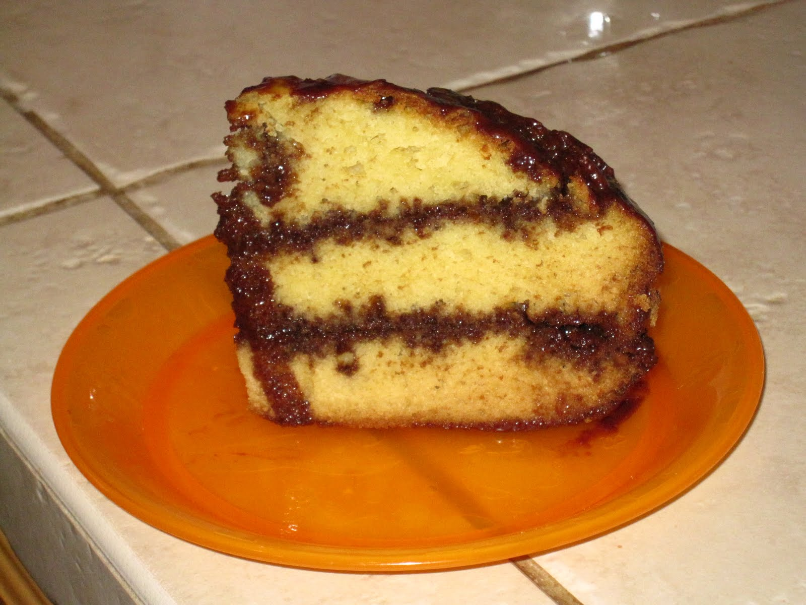 ... Chiffon Cake & Old Fashion Yellow Butter Cake with Chocolate Frosting