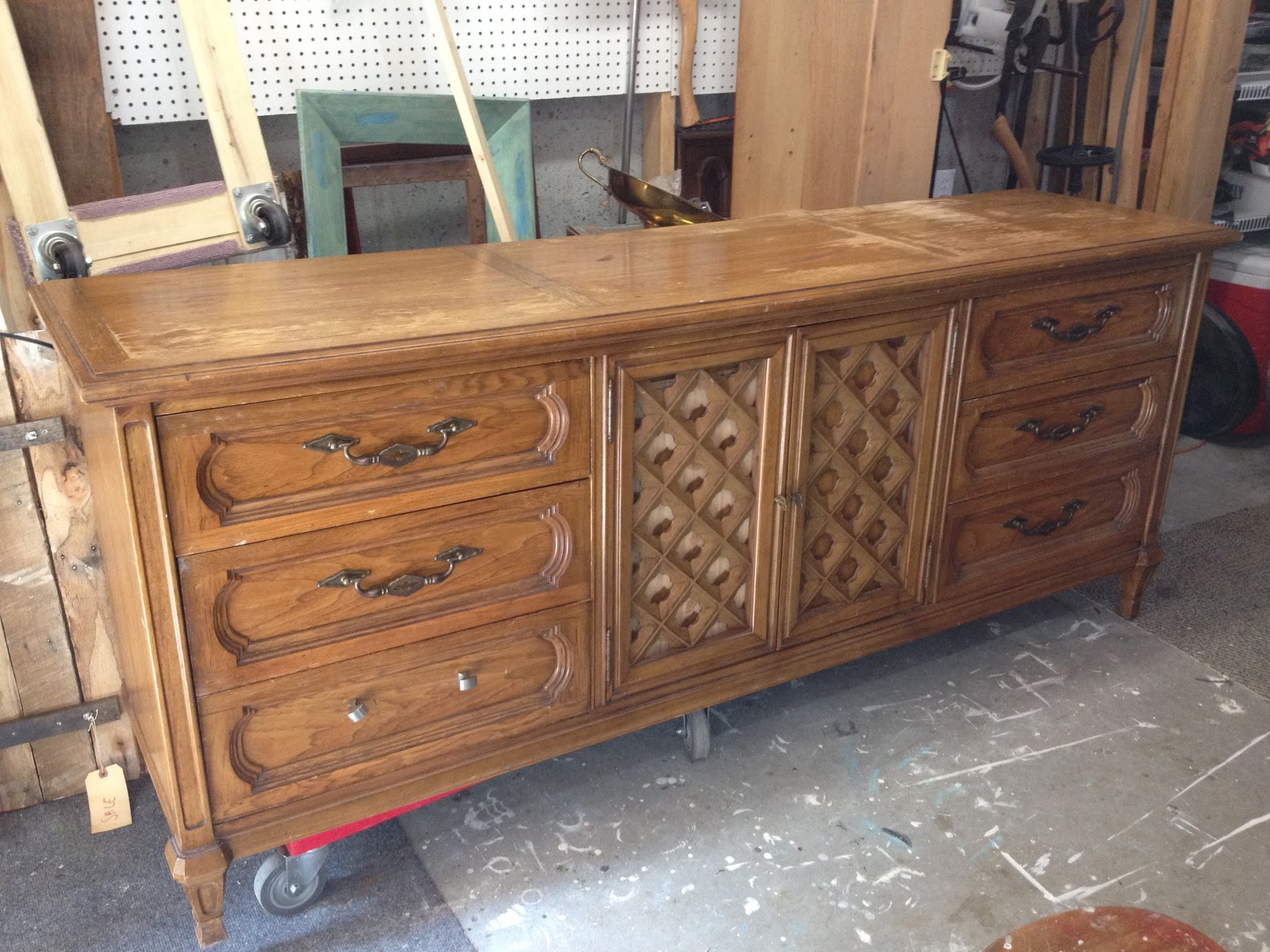 Piece It Is Thomasville Really Was In Good Shape Drawers Worked Well No Major Scratches Or Chips Legs Were Perfect Just Need Some Updating