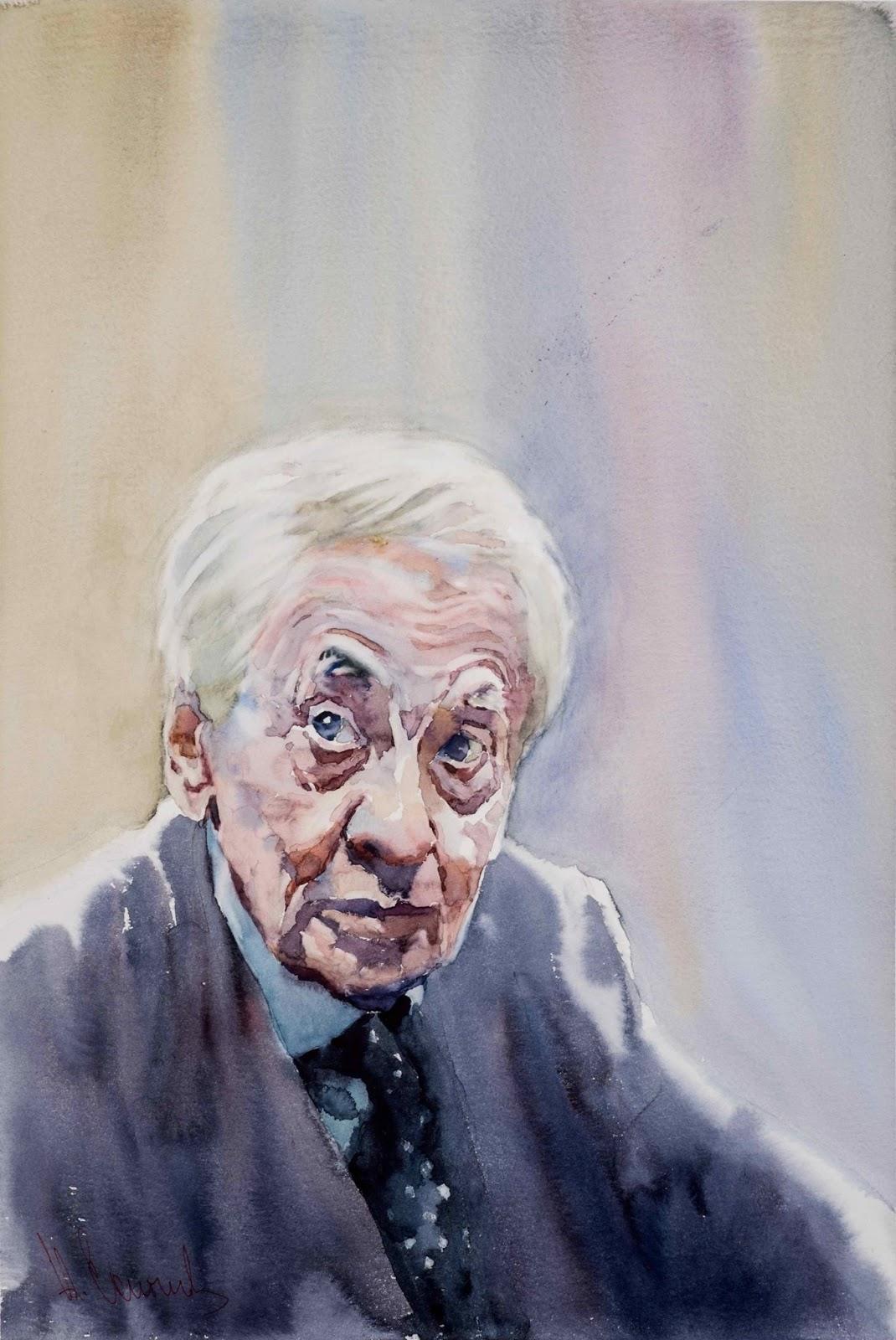 Andrey Esionov Portrait of Vladimir Naumov