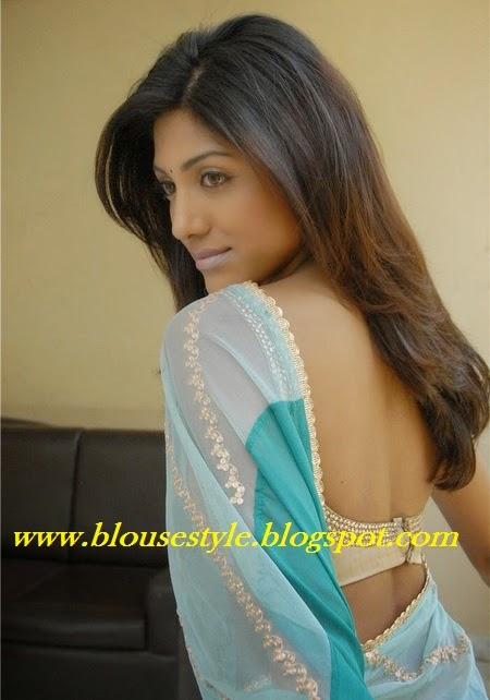 back hook blouse