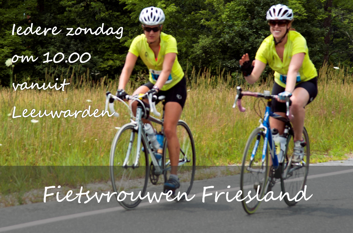 Fietsvrouwen Friesland