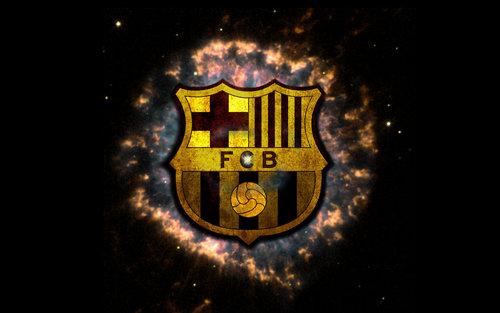 New Barcelona Fc Logo Wallpaper 2011 2012