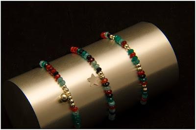 Pulseras de jade variados y motivos en plata. Joyería Artesanal Personalizada