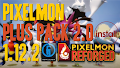 HOW TO INSTALL<br>Pixelmon Plus Pack 2.0 Modpack [<b>1.12.2</b>]<br>▽