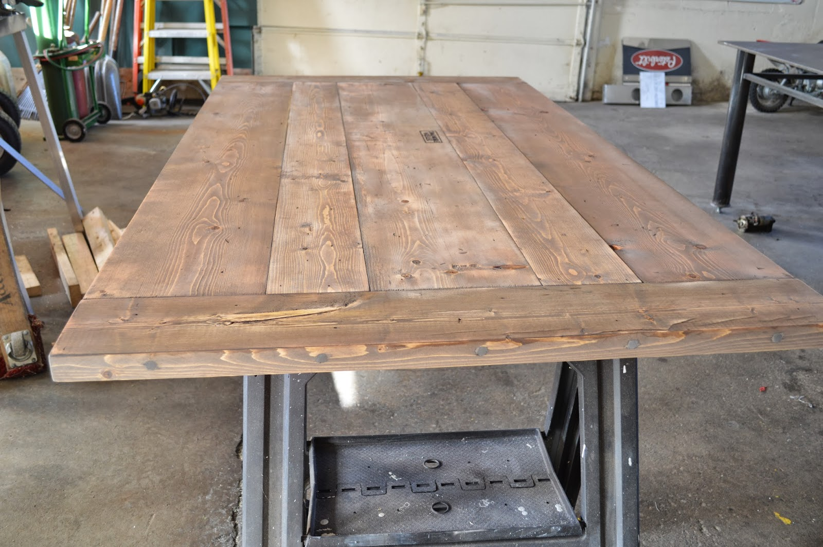 So I Sanded It Down But Was Still Determined To Get Lighter On A Trip Lowes Found Rust Oleums Wood Stain
