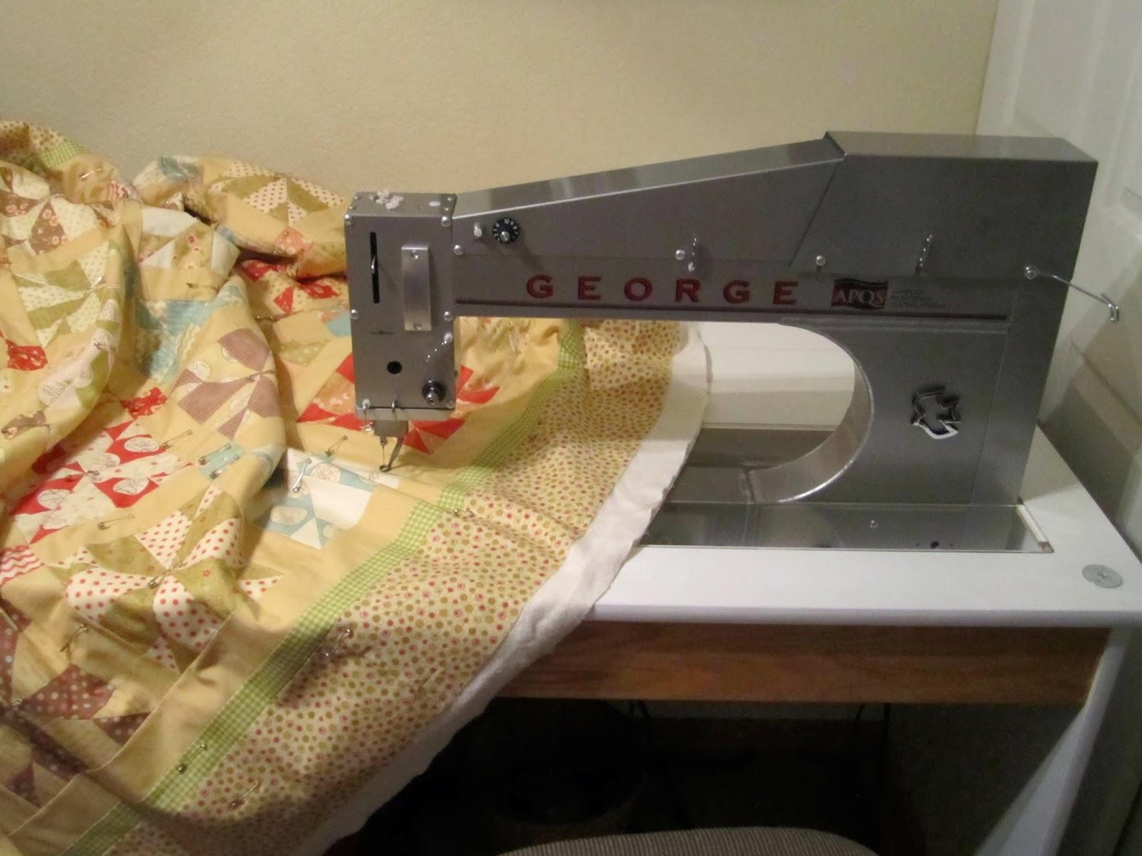 December 2013 | Denise Clason Studios : george quilting machine - Adamdwight.com