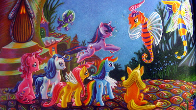 The Mane Six meet the seaponies