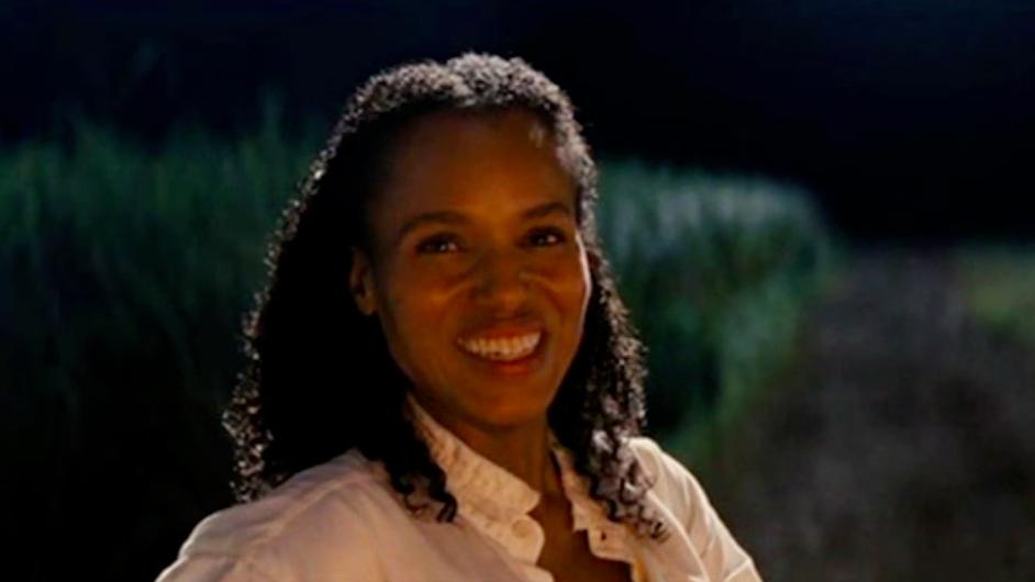 Kerry Washington as Broomhilda von Shaft in Django