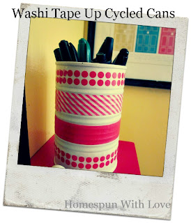 washi tape projects
