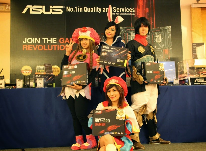 Dragon Nest Cosplayers with ASUS Components