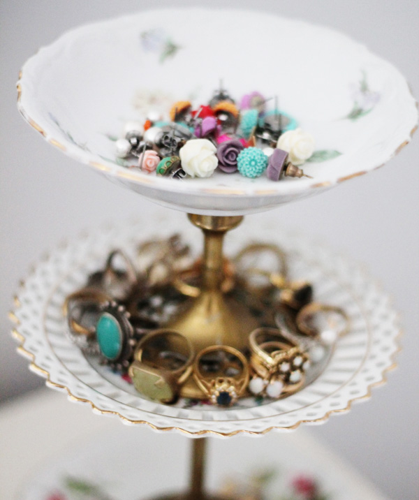 Jewellery Stand Designs : Acute designs diy vintage jewelry stand