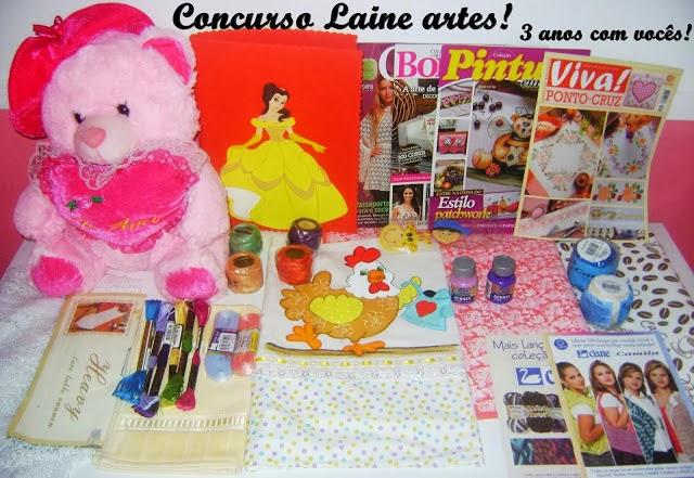 Concurso Laine Artes 3 anos