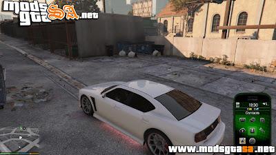 V - Veículos com Rainbow Neon v0.1 para GTA V PC