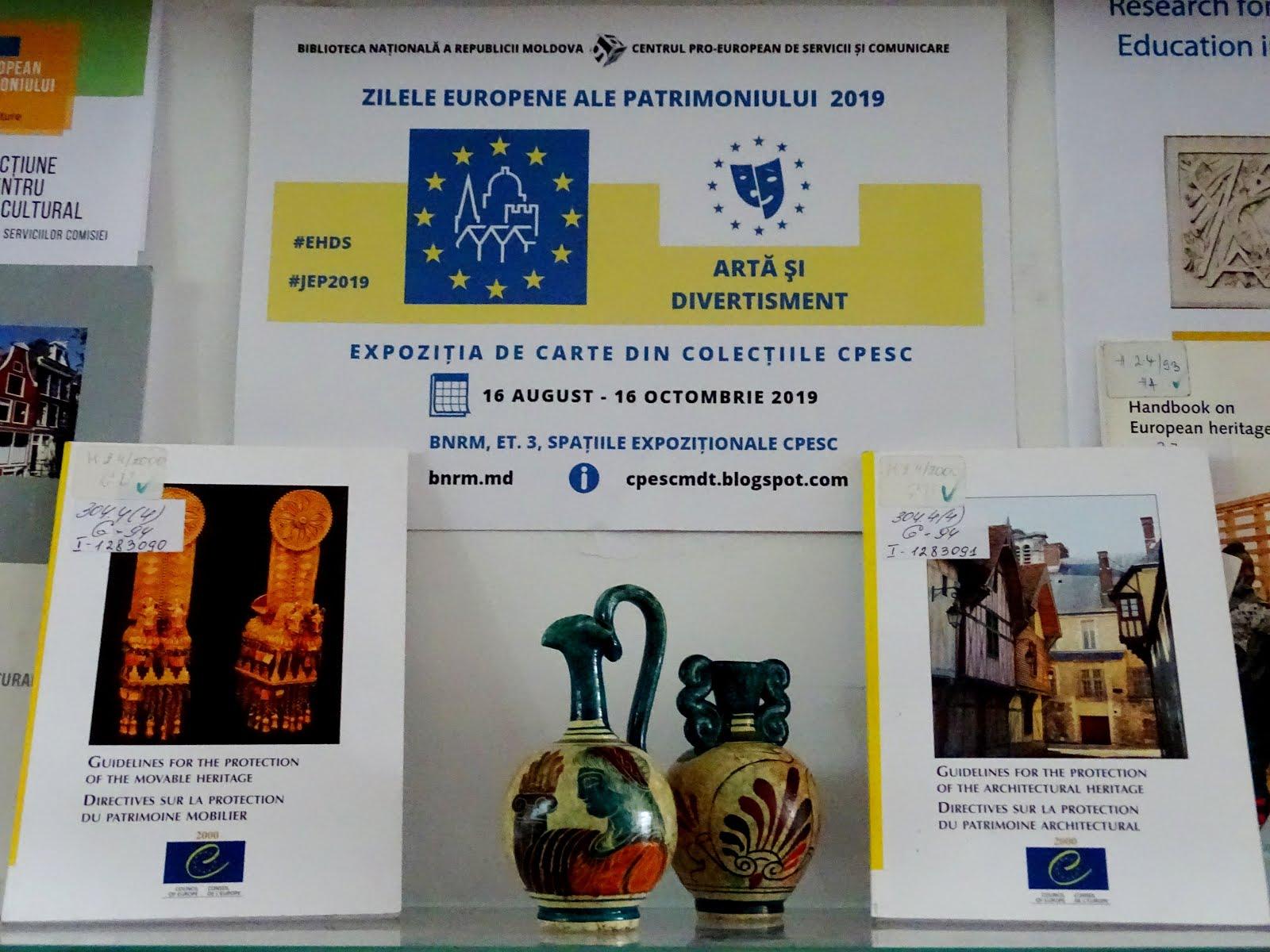 Zilele Europene ale Patrimoniului 2019