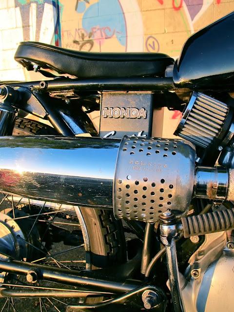 Honda CG125 Scrambler | Honda CG125 Custom | Custom Honda CG125 | Honda Scrambler | Scrambler | Honda Scrambler Exhaust pipe | Scrambler Exhaust | way2speed.com